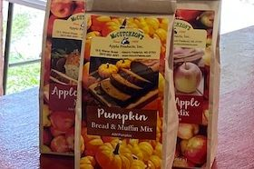 Just add apples or pumpkin for a delicious treat. 16 oz mix