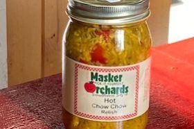 Spicy hot relish gluten free