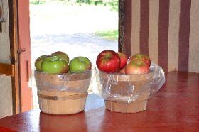 Apples will vary seasonally. This week: Macs & Prime Reds