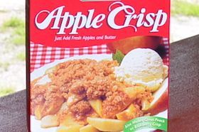 8 1/2 oz, Just Add Fresh Apples & Butter!