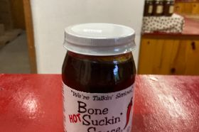 non GMO gluten free no HFCS BBQ sauce with a hot kick
